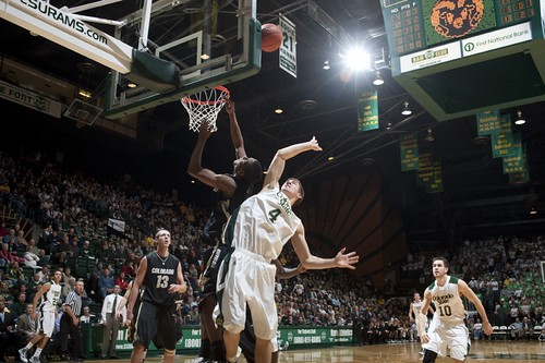 Colorado State University - Men's Basketball Ram Victory