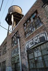 broken (drew*in*chicago) Tags: old windows winter cold building ice broken window graffiti frozen spray goods mean damaged grrr drewinchicago