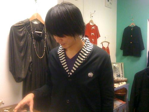 Iwao at la reine Reinette Osaka Japan