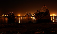 (Azadeh Alizadeh) Tags: شب chabahar کشتی omansea چابهار لنگر شعرازوحیدپورزارع دریایعمان