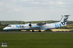 G-ECOF - 4216 - FlyBe - De Havilland Canada DHC-8-402Q Dash 8 - Luton - 100921 - Steven Gray - IMG_9774