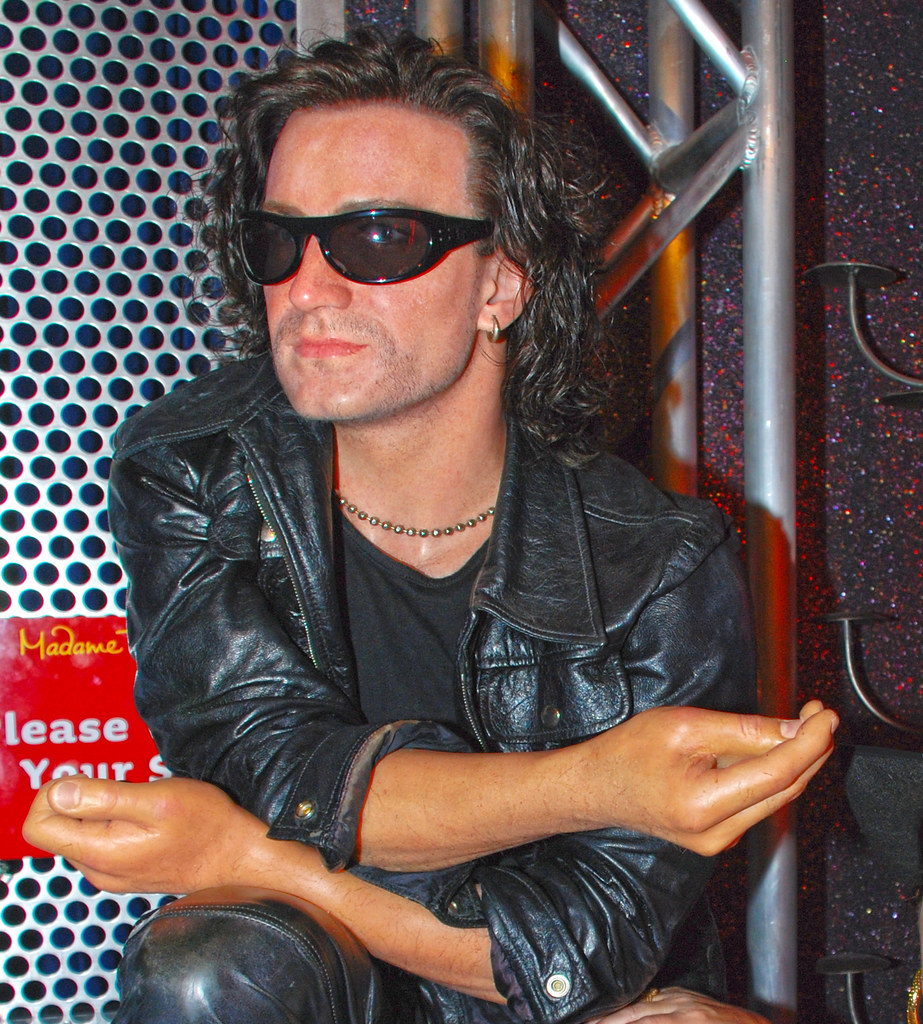 Bono at  Madame Tussaud's  Wax Museum in Las Vegas Nevada.