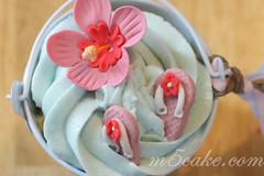 Luau cupcakes - 6