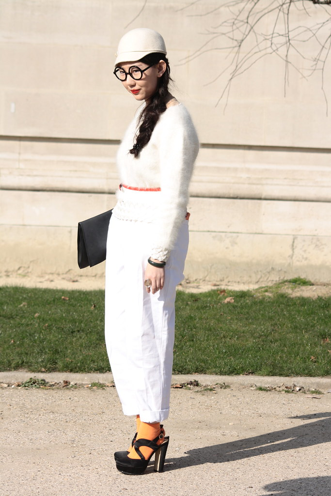 Paris fashion week March 2011