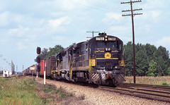 SCL0204 (ex127so) Tags: scl collier yard petersburg va 1977 u36b