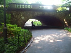 A Walk In The Park (1970coyote) Tags: park newyorkcity bridge shadow centralpark