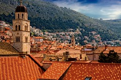 Dubrovnik. Paseo por la muralla, tejados I (Angel Villalba) Tags: city stone angel croatia medieval dubrovnik adriatic villalba anvifo