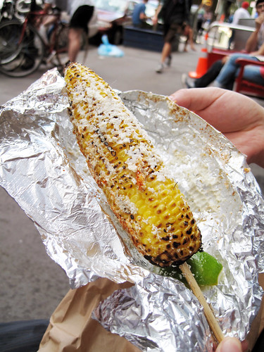 mexican corn @ cafe habana