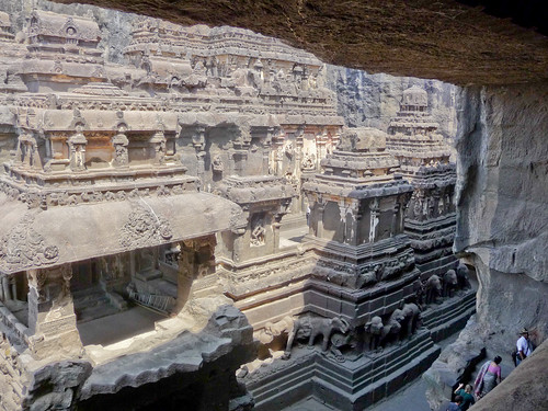 Ellora caves by you.