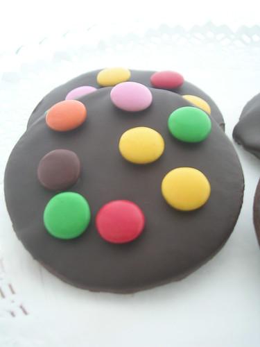 Çikolata Kaplı Bonibonlu Kurabiye