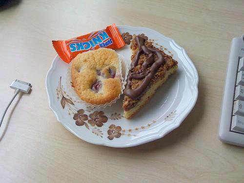Nussecke & Muffin