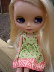 Lola's new dress