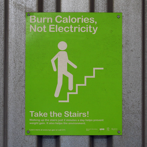 Burn calories, Not Electricity - Take the Satirs!