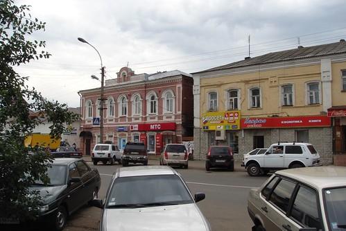 Старое и новое (по центру Красноармейской)