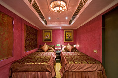 Train Chartering - Royal Rajasthan on Wheels, India's new luxury train, deluxe saloon, Ruby