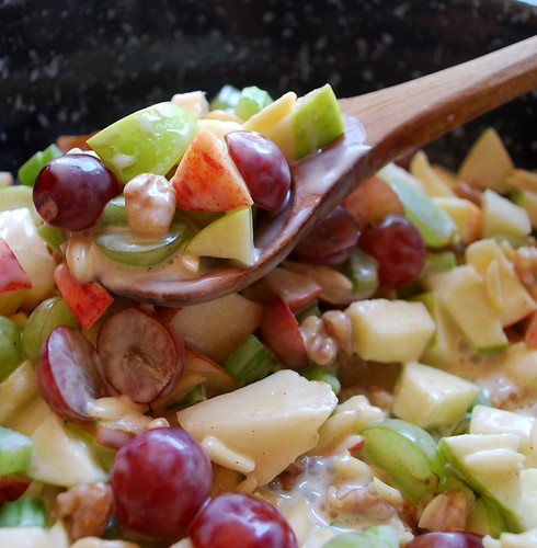 Crunchy Apple & Grape Salad1