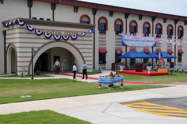 Humphreys opens new Education Center by USAG-Humphreys