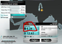 internet-speed at google gurgaon office