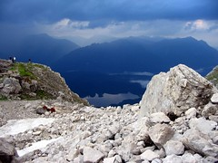 View from Wiener Neustadter Htte (stemberovi) Tags: mountains alps germany zugspitze