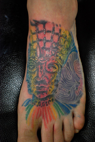 Alex grey tattoo · karibacktattoo