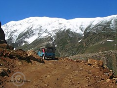 The Last Turn... (Suh@il) Tags: travel pakistan mountain lake snow tourism rocks track jeep stones glacier adventure valley peaks nwfp naran suhail jeepsafari sonyh5 jeeptrack suhailakhtar northernareaofpakistan lakesaifulmaluk tolakesaifulmaluk shootingfromjeep