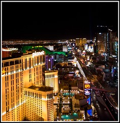 Sin city at night (tiffa130) Tags: road city las vegas usa cars nikon cityscape traffic lasvegas nevada stock creative landmarks free commons spotlight cc strip hollywood creativecommons stockphotos planet thestrip planethollywood dslr ph birdseyeview mgmgrand sincity nikoncamera freepics flickrstock tiffa nikondslr nikond40x d40x freestockphotos viewforabove freestockphotography photosbytiffa photobytiffa