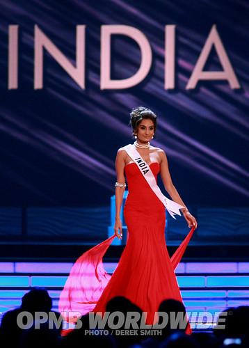 India's Miss Universe contestant Ekta Chaudhary