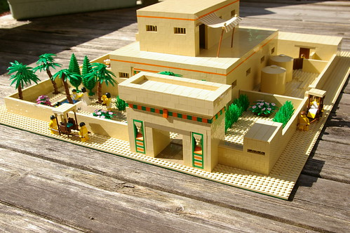 Model of an ancient egyptian house