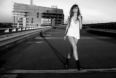 #2 roofing shoot with thifaine (.Rod) Tags: fashion book lille toit thifaine