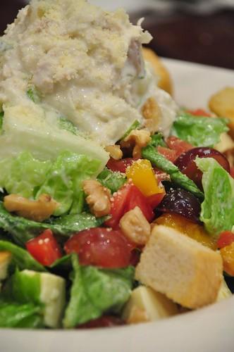 Ticky Wack Chix Salad @ Bigby's Cafe and Restaurant
