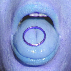 Love is cold (Brassy Lassy) Tags: life blue wedding cold colour face tongue mouth gold open teeth wide blues marriage lips ring hues weddingring relationships tone facial tinted vows weddingband flickrunitedaward loveiscold