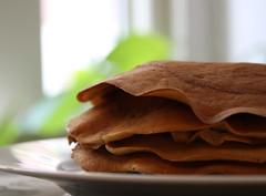 Panquecas de farinha de arroz integral - Wild Rice Flour Pancakes