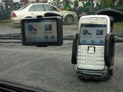 Nuvi 205W & Nokia E71