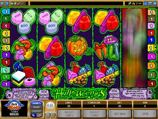 Halloweenies slot game online review