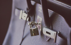 THE BIRKIN (heartbreaker [London]) Tags: classic silver dark bag violet hermes luxury birkin