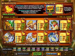 free Pay Dirt! slot mini symbol