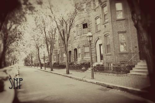 . side street .