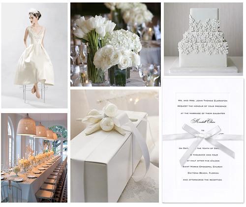 White Wedding Shower