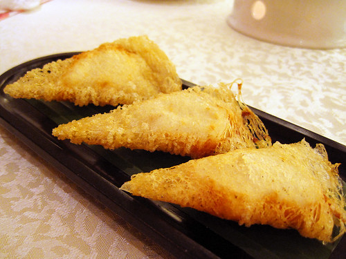 fried cuttlefish rolls @ victoria city restaurant