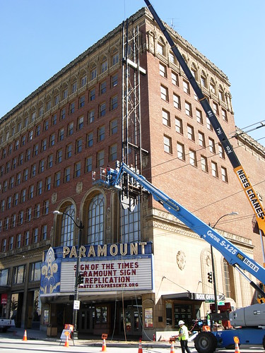 Seattle Paramount's Re-signage