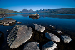 Loch Bad a Ghaill, Wester Ross. 29/05/09 (Douglas Griffin) Tags: scotland westerross sigma1020mm benmorecoigach coigach nikond80 beinnaneoin lochbadaghaill