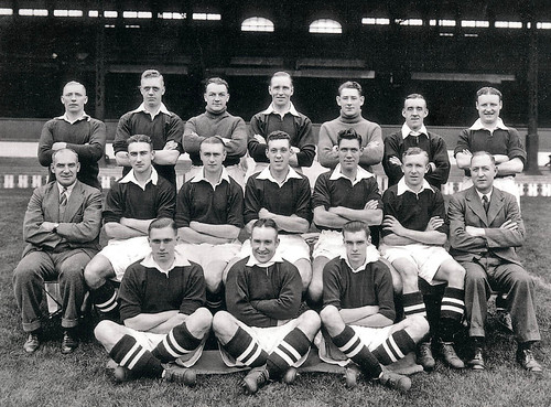 Manchester United 1938-39 team photograph