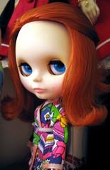 Eleanor (Fussywickett) Tags: friendly kenner blythe freckles loungin 1972 takara lovelies