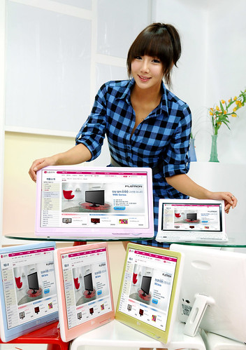 LGEPR님이 촬영한 노트북용 모니터 출시.