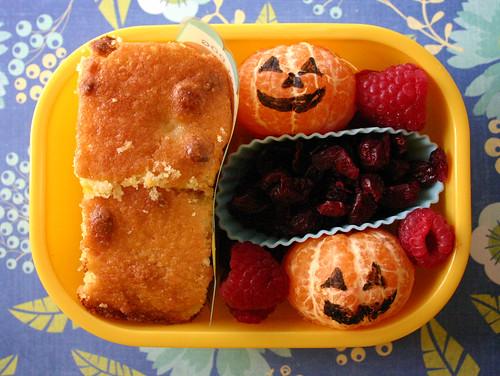 Kindergarten Bento #250:October 20, 2009