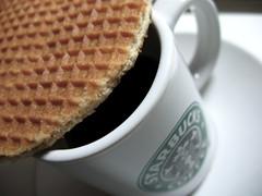 Stroopwafel (ash matadeen) Tags: coffee starbucks espresso foodanddrink stroopwafel starbuckscoffee caramelwaffle
