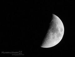 (Muneera10) Tags: moon canon eos 70300  450d