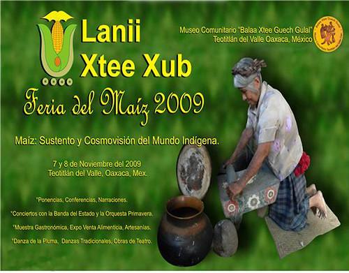 Lanii Xtee Xub: Feria del Maiz 2009