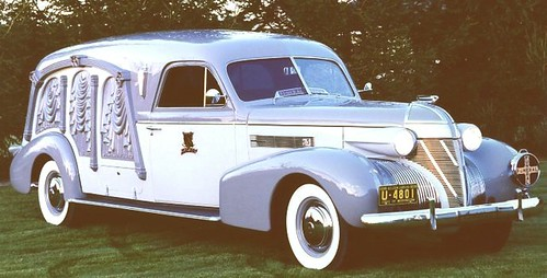 hearse 1939 cadillac
