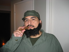 James as Fidel Castro. (10/31/2009)